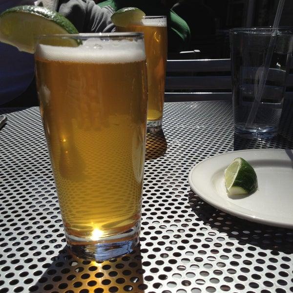 Photo taken at Boston Beer Works by Cyndi R. on 4/28/2013