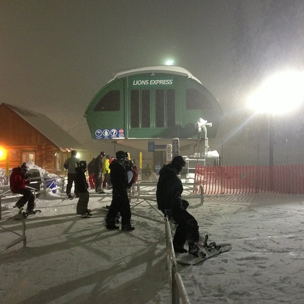 Photo taken at Cypress Mountain Ski Area by Jenn C. on 12/21/2012