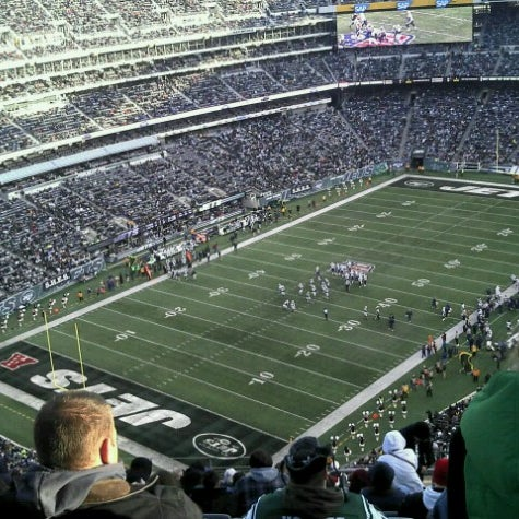 Photo taken at MetLife Stadium by Juan Manuel I. on 12/23/2012