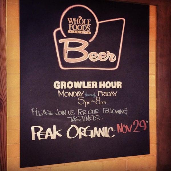 Photo taken at Whole Foods Market by Zach Peak P. on 11/8/2012
