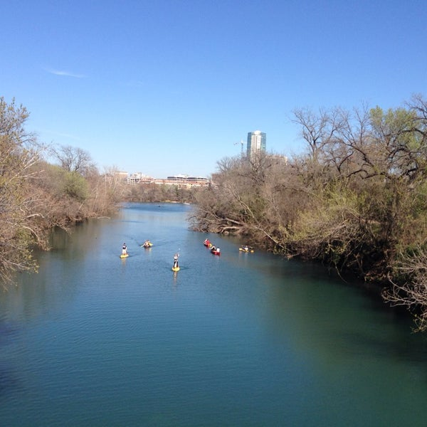 Photo taken at Lady Bird Lake Trail by Kenny S. on 2/28/2014