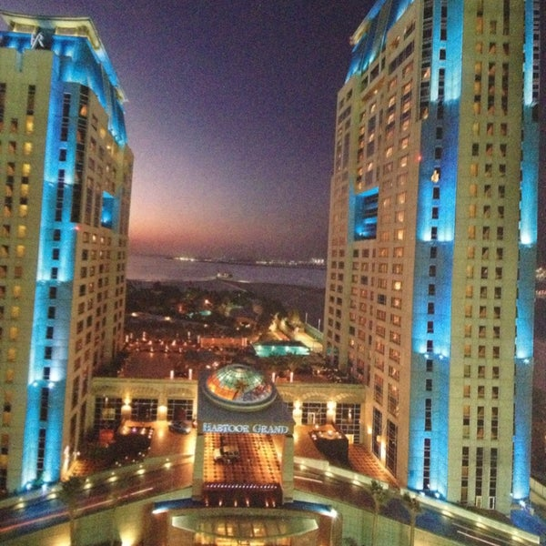 Photo taken at Habtoor Grand Resort, Autograph Collection by Ivan V. on 12/26/2012
