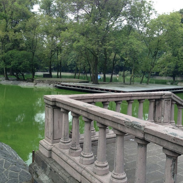Photo taken at Bosque de Chapultepec by ASANGA Y. on 7/21/2013
