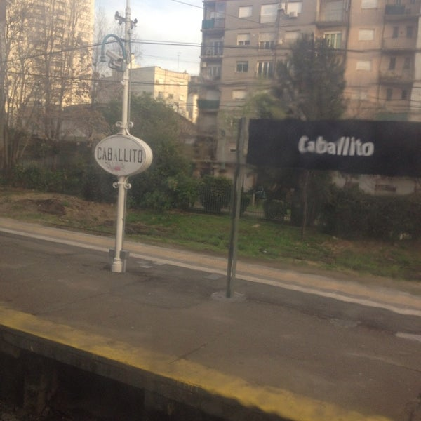 Photo taken at Estación Caballito [Línea Sarmiento] by JOSE P. on 9/9/2013