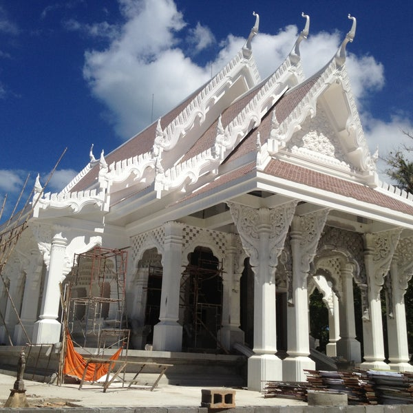 Photo taken at วัดสว่างอารมณ์ by JeE P. on 5/2/2013
