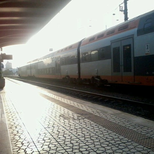 Photo taken at Gare de Mohammédia  محطة المحمدية by Meriem c. on 1/27/2013