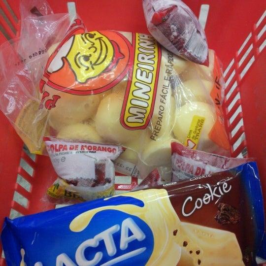 Photo taken at Supermercados Nazaré by Ava A. on 2/9/2013