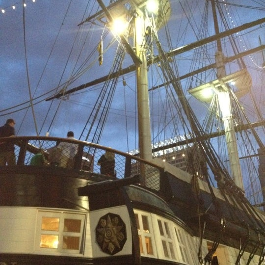 Photo taken at USS Constellation by Ann M. on 5/12/2013