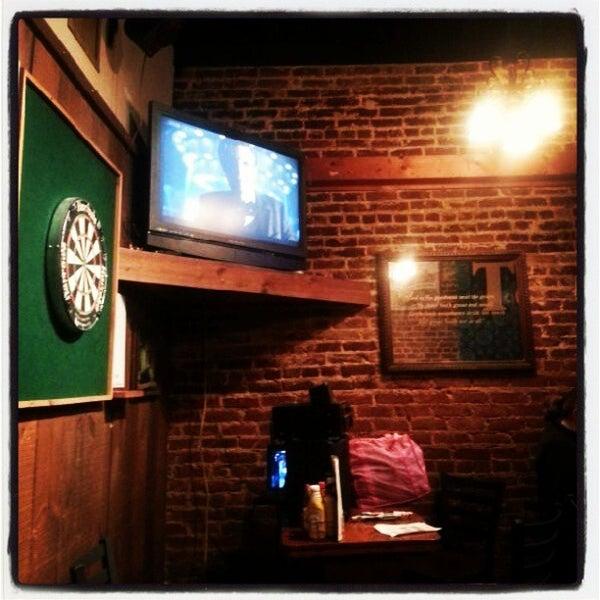 Photo taken at Manuel's Tavern by Brian J. on 3/30/2013
