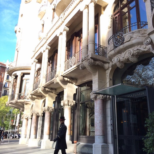 Photo taken at Hotel Casa Fuster by Ivan B. on 2/4/2014