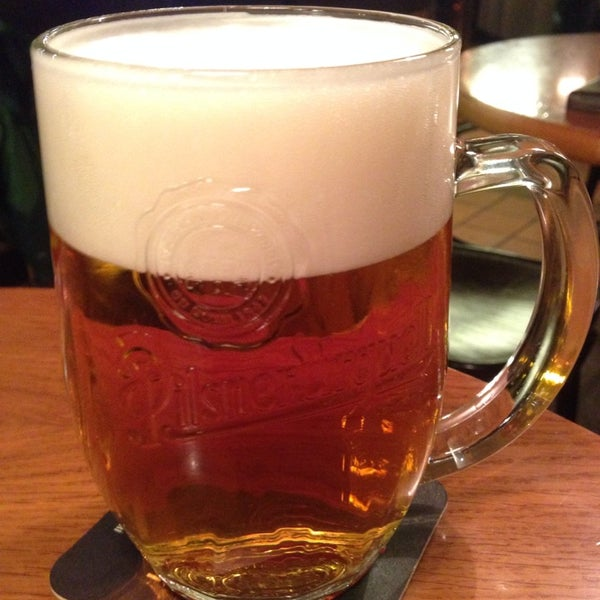Photo taken at Kulaťák Pilsner Urquell by Ales K. on 1/4/2014