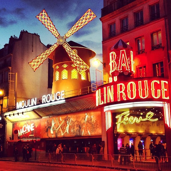 Photo taken at Moulin Rouge by Andrey C. on 4/19/2013