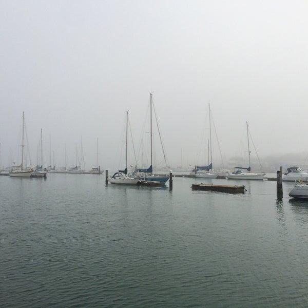 Photo taken at Hamble Point Marina by Trtt on 8/8/2015