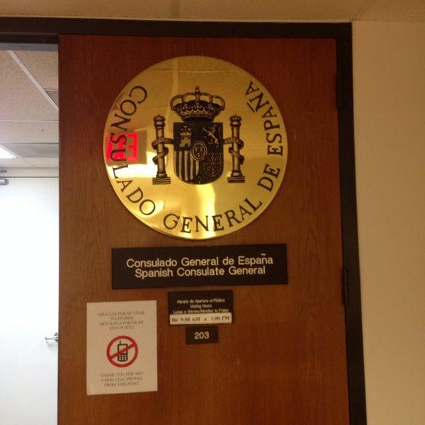 Consulado general de espa a en miami embajada consulado - Embaja de espana ...