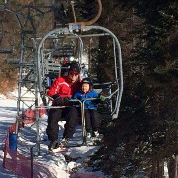 Photo taken at Pat's Peak Ski Area by Joseph S. on 2/8/2014