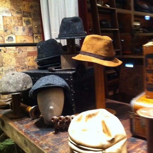 Photo taken at Goorin Bros. Hat Shop by Jeromy Z. on 12/23/2011