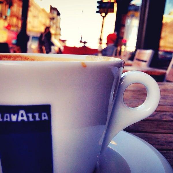 Photo taken at Cup-A-Joe Coffee House by Ferdian W. on 10/1/2014