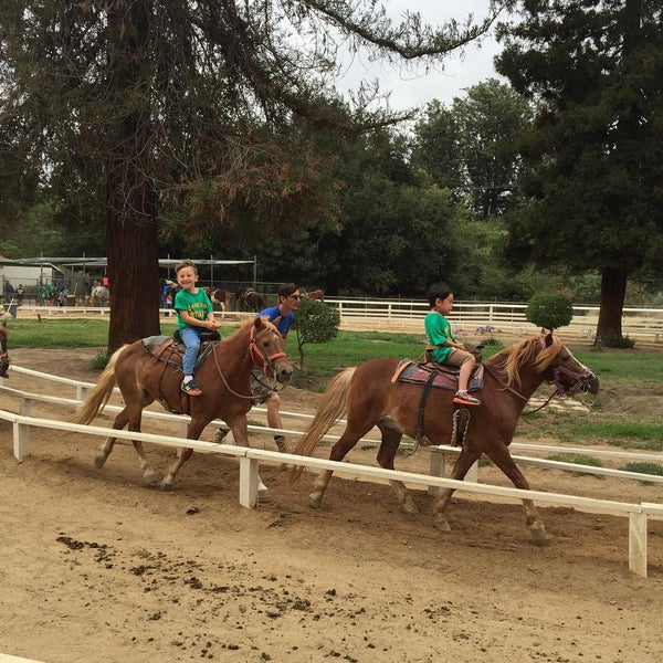 Photo taken at Griffith Park Pony Rides by Donny F. on 7/8/2015