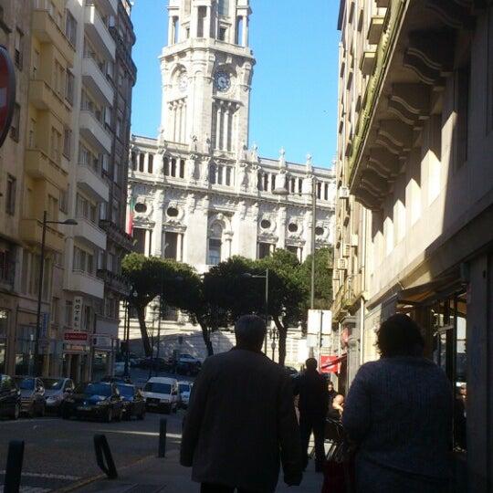 Photo taken at Avenida dos Aliados by Reinaldo F. on 4/13/2013