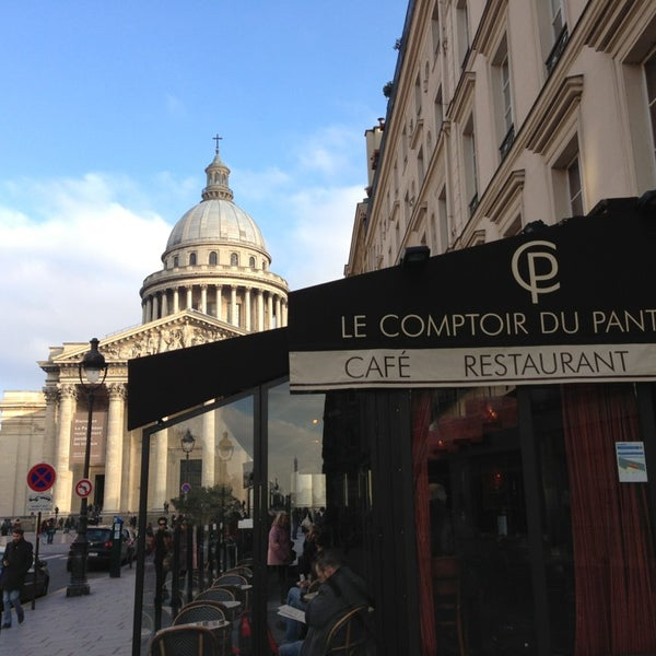 Le comptoir du panth on sorbonne paris le de france - Le comptoir du petit marguery paris 13 ...