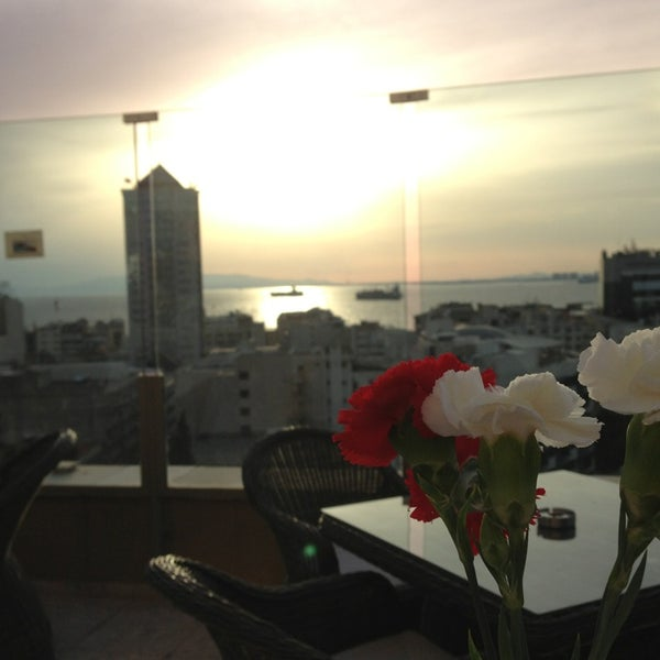 Photo taken at Hilton Izmir by Selin K. on 6/7/2013