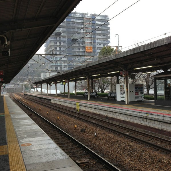 Photo taken at Ōtsu Station by Takashi N. on 1/18/2013
