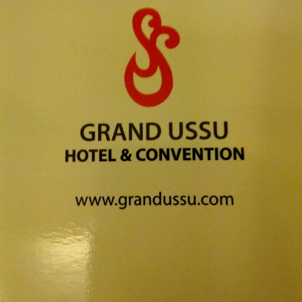 Photo taken at Grand Ussu Hotel & Convention by Hari C. on 8/29/2013