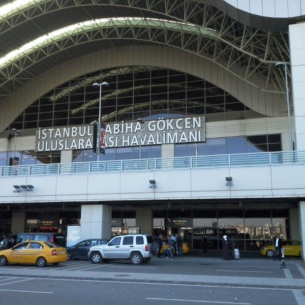 Photo taken at Sabiha Gökçen International Airport (SAW) by Koray T. on 4/12/2013