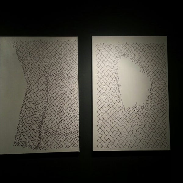 Photo taken at Art in the Age of Mechanical Reproduction by Jamie D. on 4/5/2013