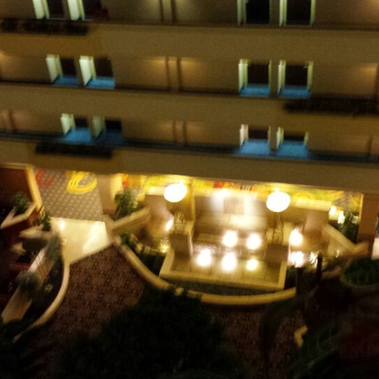 Photo taken at Houston Marriott South at Hobby Airport by Susan M. on 10/11/2014