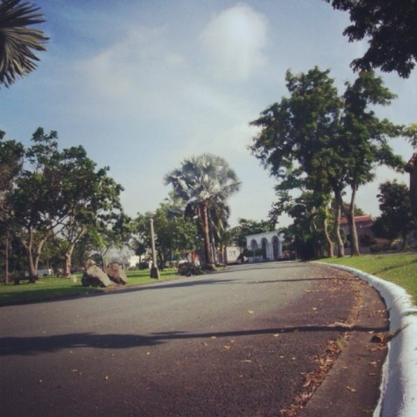 Photo taken at Manila Memorial Park by Korine G. on 3/1/2013
