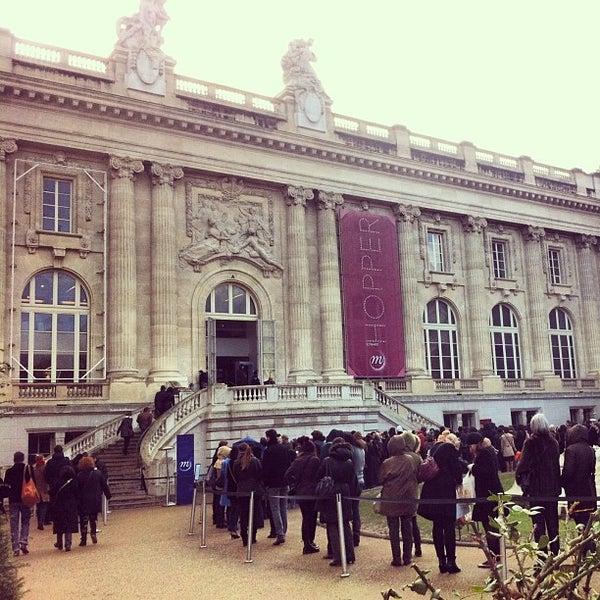 Photo taken at Grand Palais by Mario M. on 2/3/2013