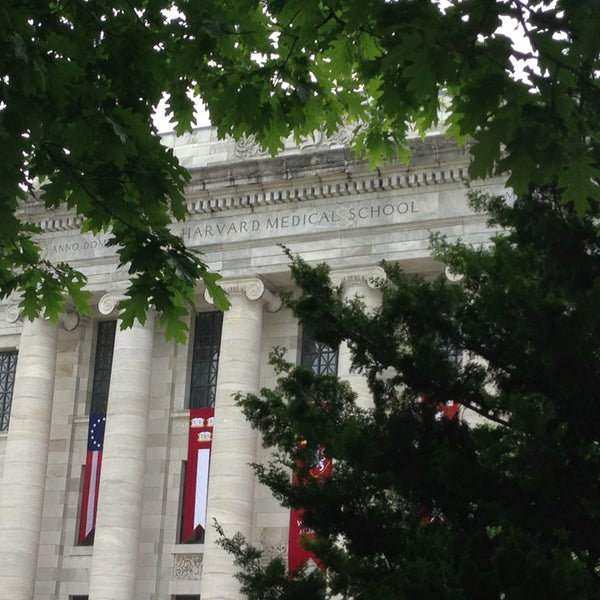 Photo taken at Harvard Medical School Quadrangle by Shantanu G. on 5/29/2013