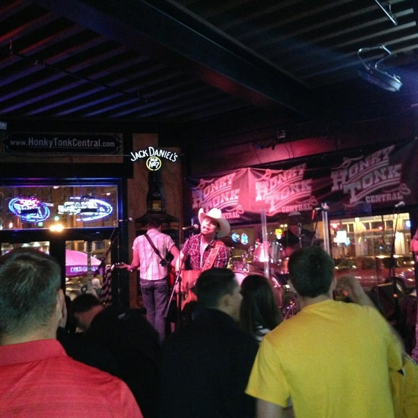 Photo taken at Honky Tonk Central by Brian L. on 4/5/2013