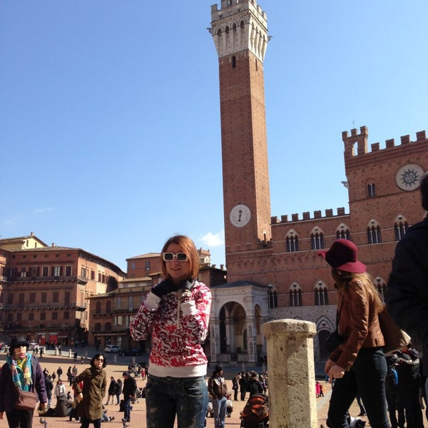 Photo taken at Siena by Victoria P. on 3/16/2013