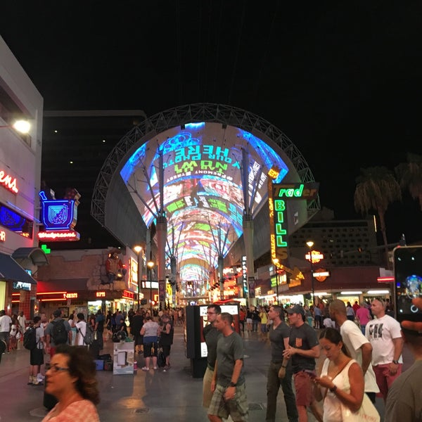Photo taken at Downtown Las Vegas by Mohammed A. on 7/18/2016