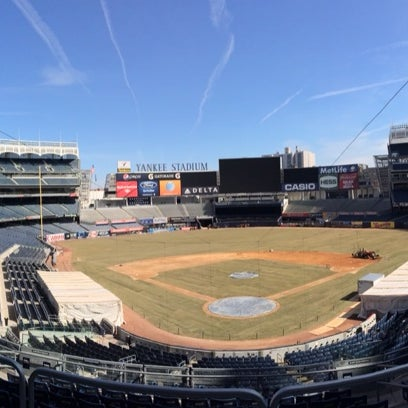 Photo taken at Yankee Stadium by Yuta K. on 3/11/2014