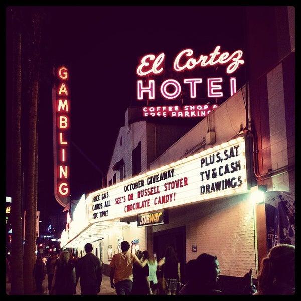 Photo taken at El Cortez Hotel & Casino by Rudi R. on 10/28/2013
