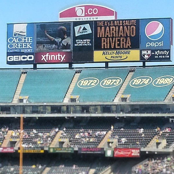 Photo taken at O.co Coliseum by Augusto M. on 6/13/2013