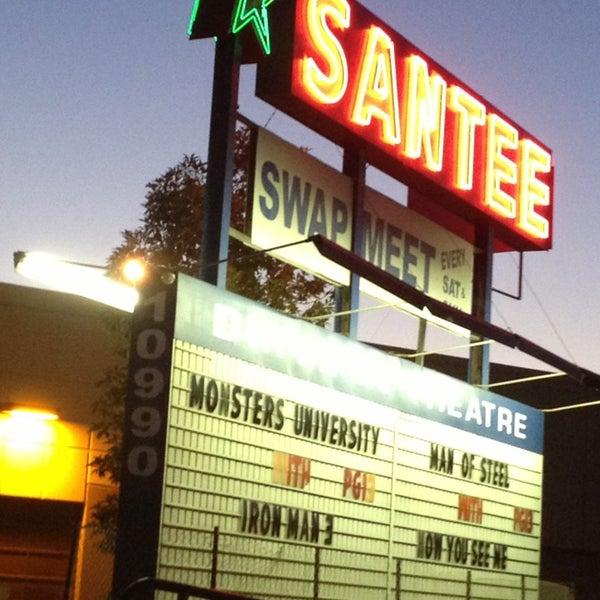santee drive in theater 10990 woodside ave n