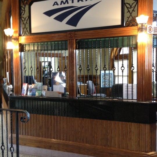 Photo taken at Kalamazoo Transportation Center - Amtrak (KAL) by Tonei G. on 10/5/2012