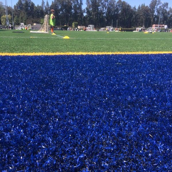 Photo taken at UCLA Intramural Field by Elliott L. on 6/15/2015