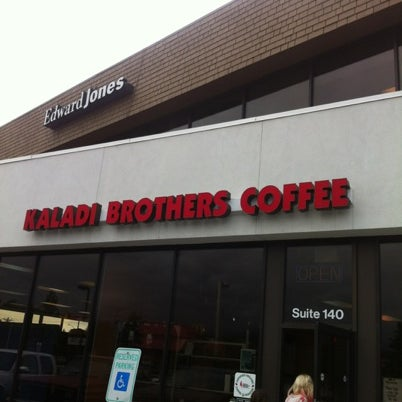 Photo taken at Kaladi Brothers Coffee by Brandon B. on 7/24/2012