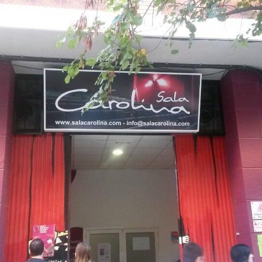 Photo taken at Sala Carolina by Jose L. R. on 10/27/2013