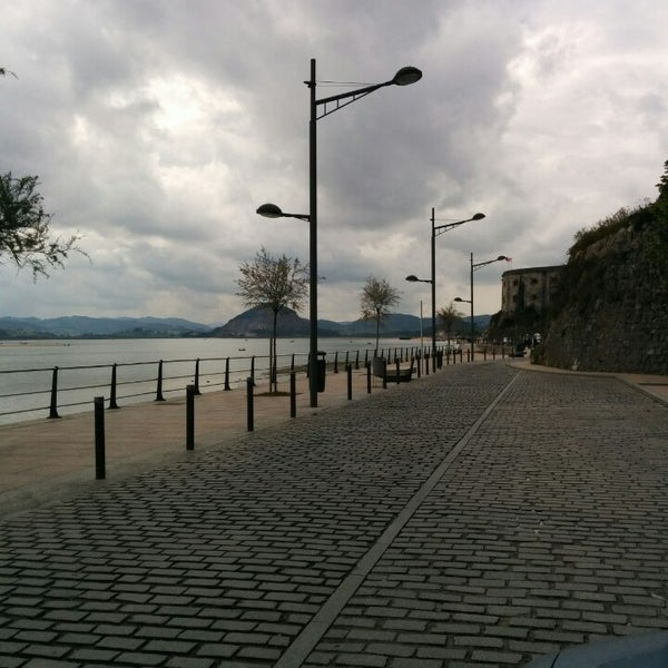 Photo taken at Santoña by Iban N. on 4/20/2014