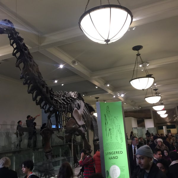 Photo taken at David H. Koch Dinosaur Wing by Michael F. on 12/19/2015