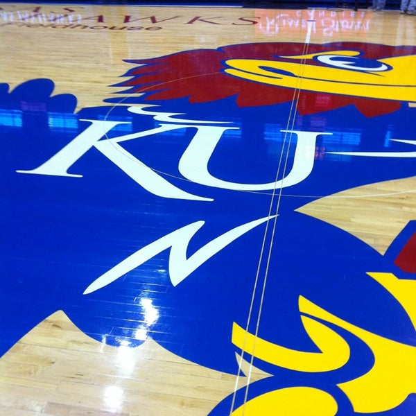 Photo taken at Allen Fieldhouse by Da'Sean B. on 3/2/2013