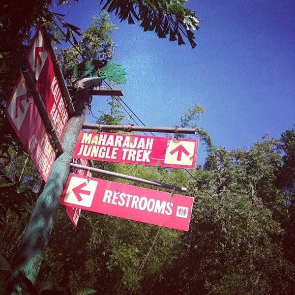 Photo taken at Maharajah Jungle Trek by Jeff W. on 11/3/2012