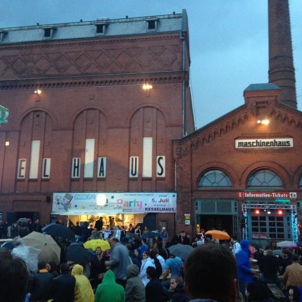 Photo taken at Kulturbrauerei by Uwe F. on 6/30/2014