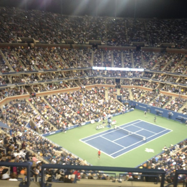 Photo taken at 2013 US Open Tennis Championships by Kat on 9/10/2013